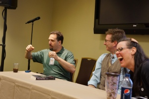 M.H. Boroson adds a bit of humorous insight into the world of Kaiju at AnomalyCon 2013.