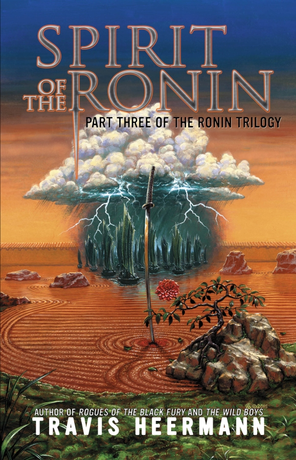 Author Interview with Travis Heermann on his new release, <em>Spirit of the Ronin</em>